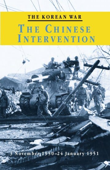 The Chinese Intervention - US Army Center Of Military History