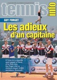 GUY FORGET - Fédération Française de Tennis