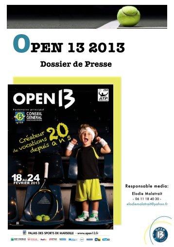 OPEN 13 2013 - Ecole de la deuxième chance