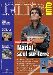 Tennis Info n°443 - Juillet-Août 2012 - Fédération Française de Tennis