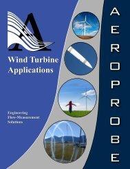 Wind Turbine Applications - Aeroprobe
