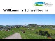 Vielseitige Einkaufsmöglichkeiten - Gemeinde Schwellbrunn