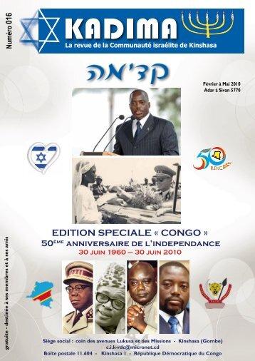 EDITION SPECIALE « CONGO »