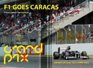 F1 GOES CARACAS - Grandprixplus