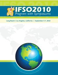 IFSO2010 Online Preliminary Program With Symposiums