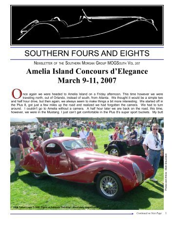 MOGSouth 2_07v4 - Morgan Owners Group South