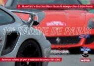 18 mars 2012 Paris Tour Eiffel Circuits - Rallystory
