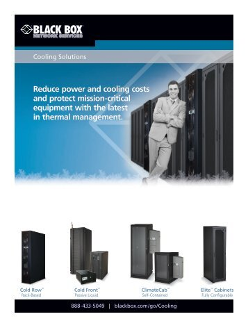 Data Center Cooling Solutions - Black Box
