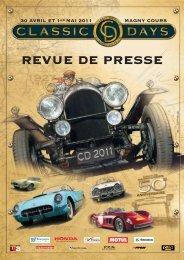 REVUE DE PRESSE - Classic Days