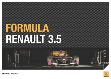 nouvelle formula renault 3.5 - Pista i Rally