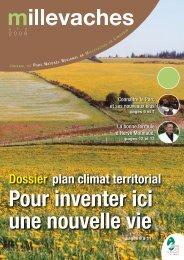 Dossier plan climat territorial - Parc Naturel Régional de Millevaches ...