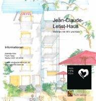 Jean-Claude- Letist-Haus - Aidshilfe Köln