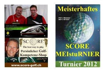 Meisterhaftes SCORE MEIstu 2012 - SCORE Persönlicher Golf ...