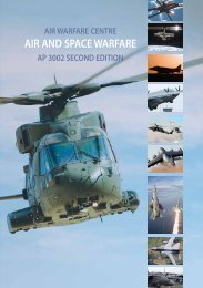 AP 3002 Air and Space Warfare - Second Edition - Air Power Studies