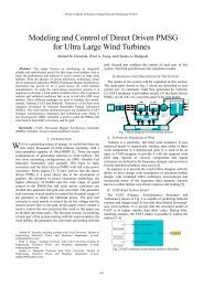 Modeling and Control of Direct Driven PMSG for Ultra Large Wind ...