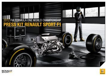 PRESS KIT RENAULT SPORT F1 - MotorShow