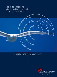 [How to improve wind turbine output in all climates] [NM54/950 ...