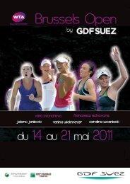 Dossier de presse 2011 - Brussels Open