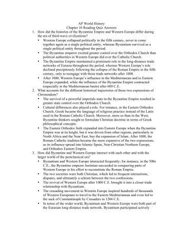 1984 dbq essay