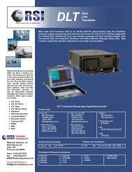 DLT Datasheet - Redondo Systems Inc.