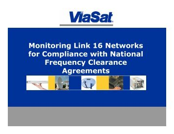 Monitoring Link 16 Networks for Compliance with National ... - MilCIS