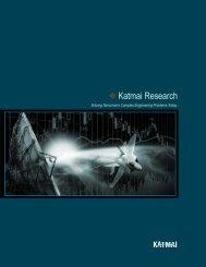 Page 1 Page 2 Company Overview Katmai Research (Katmai) is a ...