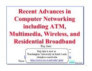 Recent Advances in Computer Networking including ATM ...