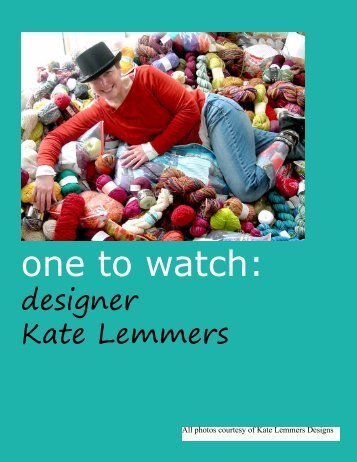 one to watch: - Knitcircus