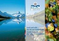 Sanft und wild-Das Tal von Grindelwald als - Aletsch