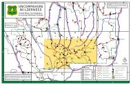 uncompahgre wilderness - USDA Forest Service - US Department of ...