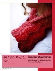 saint joe carousel cowl - Knitcircus