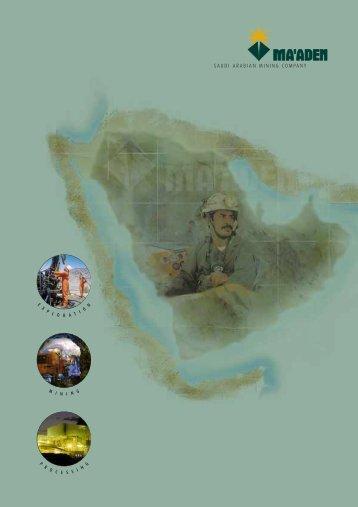 SAUDI ARABIAN MINING COMPANY - Mining Research