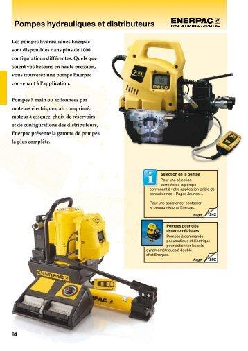 Pompes hydrauliques et distributeurs - SCV SA
