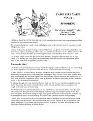 CAMP FIRE YARN NO. 12 SPOORING - The Dump