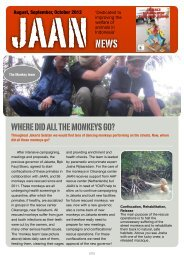 news letter JAAN november 2012 - Jakarta Animal Aid Network