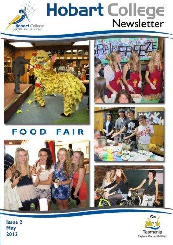 Hobart College Newsletter 2 2012 - Tasmanian Academy