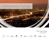 Hilton Turkey e-brochure