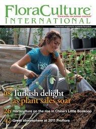 08 Turkish delight as plant sales soar - Floracultureinternational.com
