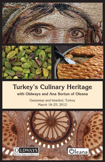 Turkey's Culinary Heritage - Oldways