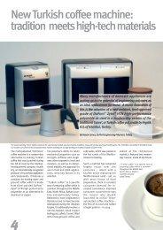 New Turkish coffee Machine - Plastics, Polymers, and Resins - DuPont