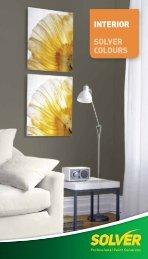 INTERIOR SOLVER COLOURS - Solver Paints