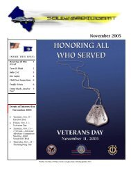 November 2005 Newsletter - Fairfax County Government