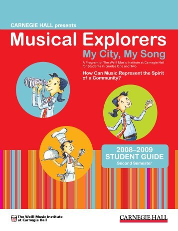 Musical Explorers - Carnegie Hall