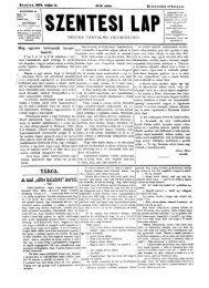 Szentesi Lap 9. évf. 19. sz. (1879. május 11.) - EPA