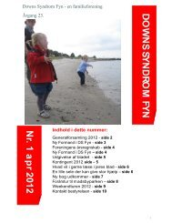D O W N S SY N D R O M FY N N r. 1 a p r 2012 - Landsforeningen ...