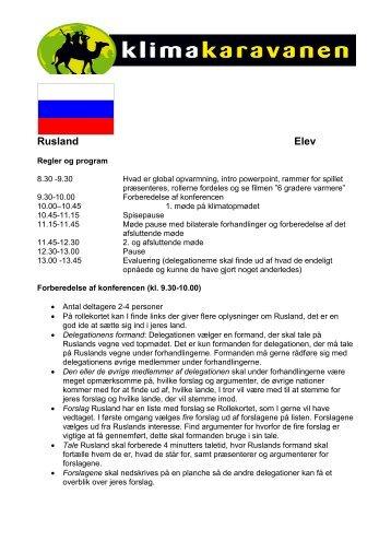 Rusland Elev - Klimakaravanen