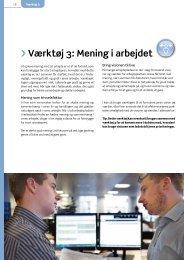 Værktøj 3: Mening i arbejdet - Arbejdsmiljoweb.dk