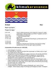 Kiribati Elev - Klimakaravanen