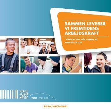 sammen leverer vi fremtidens arbejdskraft - Syddansk Erhvervsskole