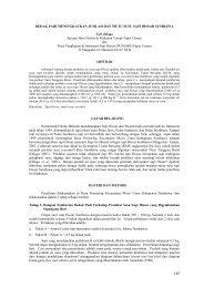 Peternakan - BPTP NTB - Departemen Pertanian